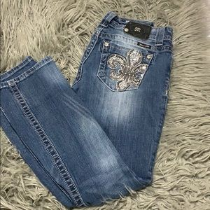 💗miss me jeans, size 27. Straight leg!💗